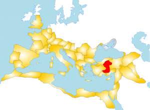 Map of the Roman Province of Galatia (Andrei nacu)
