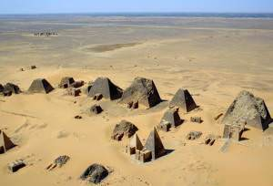 The Pyramids of Meroe (B N Chagny)