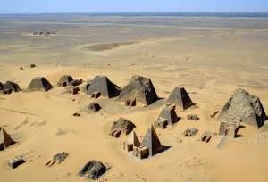 The Pyramids of Meroe (B N Chagny)
