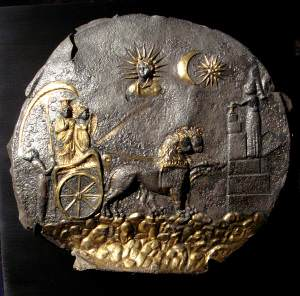 Cybele Plate (Personal photograph of Guimet Musee)