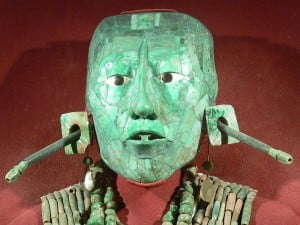 Jade Death Mask of Kinich Janaab Pacal (Wolfgang Sauber)