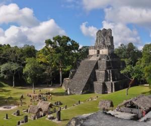 Temple II, Tikal (Mike Vondran)