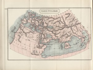 Map of the Ptolemaic World (J M Dent (1912))
