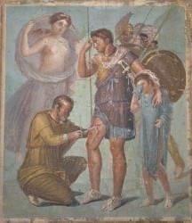 Fresco with Wounded Aeneas (Carole Raddato)