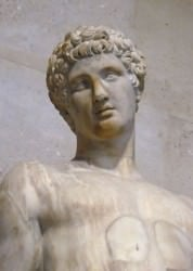 Adonis (Mary Harrsch (Photographed at the Musée Louvre, Paris))