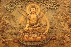 Gautama Buddha in Padmasana (Francis Chung)