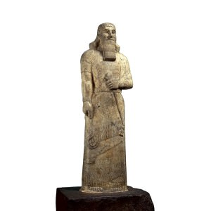 Statue of Ashurnasirpal II (Trustees of the British Museum)
