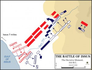 The Battle of Issus - The Decisive Moment (Frank Martini. Cartographer, Department of History, United States Military Academy)