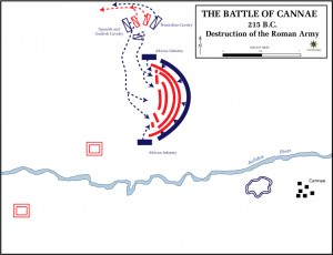 Battle of Cannae - Destruction of the Roman Army (The Department of History, United States Military Academy)
