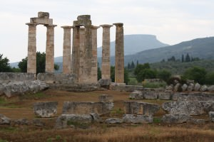 Temple of Zeus, Nemea, Greece ()