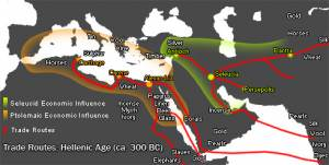 Hellenic Trade Routes, 300 BCE (Jan van der Crabben)