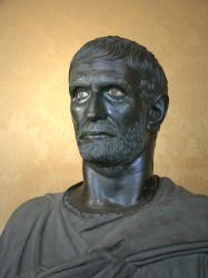 Lucius Junius Brutus (Mary Harrsch (Photographed at the Capotoline Museum, Rome))