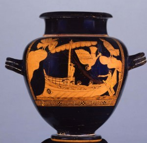 Odysseus and the Sirens (Trustees of the British Museum)