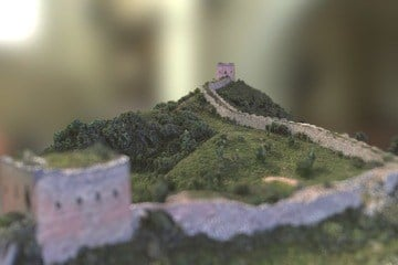 Great Wall of China - Section Model