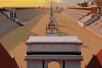 Circus Maximumus in Ancient Times - 3D View