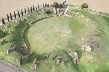 Roman Amphitheater of Toulouse - 3D View