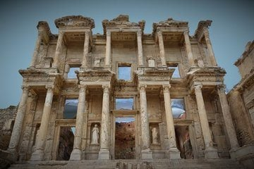 Library of Celsus - 3D View