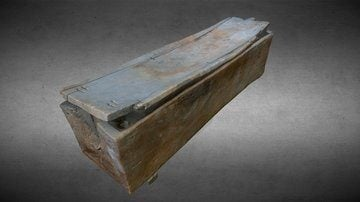 Egyptian Wooden Coffin