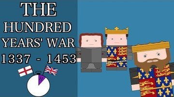 Ten Minute English and British History #15 - The Hundred Years' War