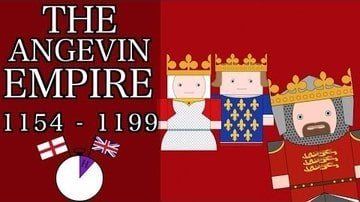 Ten Minute English & British History #10 - The Angevin Empire & Richard the Lionheart