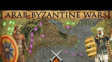 Siege of Constantinople 717-718 CE - Arab-Byzantine Wars