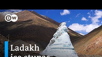 How the Ice Stupas of Ladakh Bring Water to the Himalayan Desert