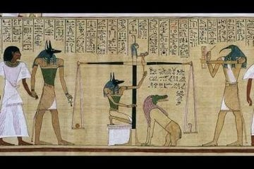 Judgement in the Presence of Osiris, Hunefer's Book of the Dead