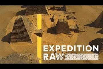 Amazing Drone Footage of Nubian Pyramids