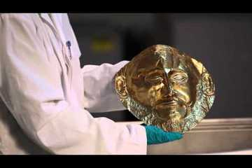 Mask of Agamemnon: Schliemann's Discovery