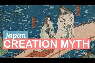 Japanese Mythology | Izanagi and Izanami and the Birth of Gods | LittleArtTalks