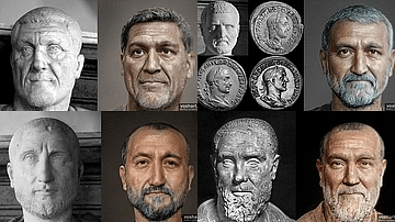 Faces of Roman Emperors: Imperial Crisis & the Barracks Emperors