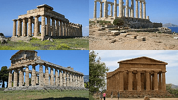 Gallery of Greek Temples