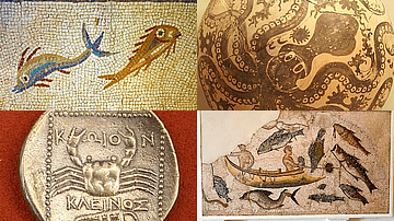 Marine Life in Ancient Mediterranean Art