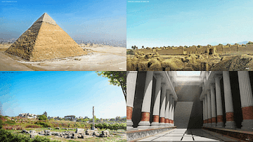 Reconstructions of the Seven Wonders of the Ancient World