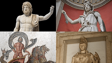 Visual Guide to Ancient Roman Gods & Heroes